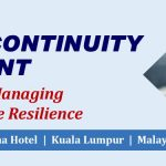 BUSINESS CONTINUITY MANAGEMENT  19 – 21 March 2019