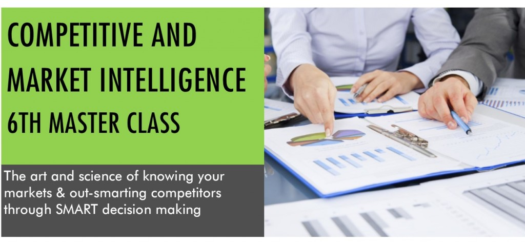 COMPETITIVE AND MARKET INTELLIGENCE BANNER 6TH CLASS