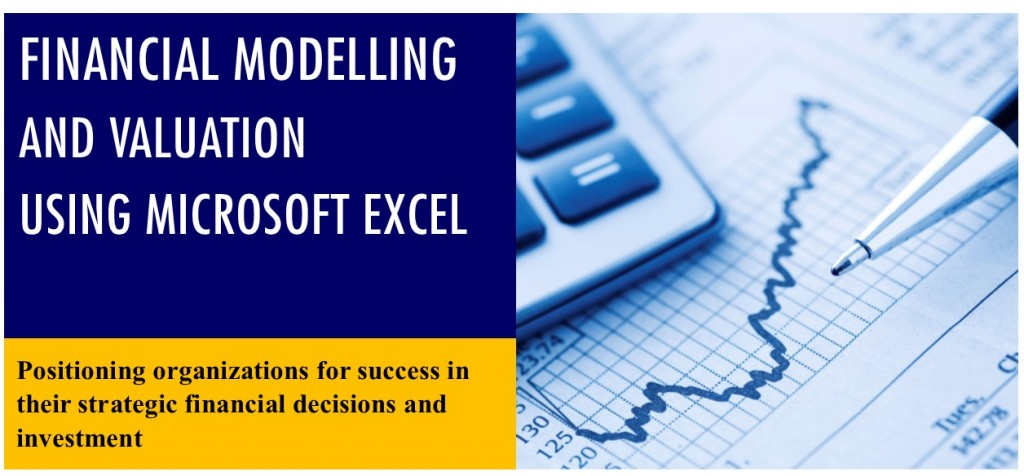 financial modeling using excel banner